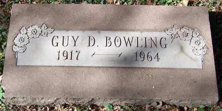 BOWLING, GUY D. - Stark County, Ohio | GUY D. BOWLING - Ohio Gravestone Photos