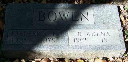 BOWLN, B.ADENA - Stark County, Ohio | B.ADENA BOWLN - Ohio Gravestone Photos