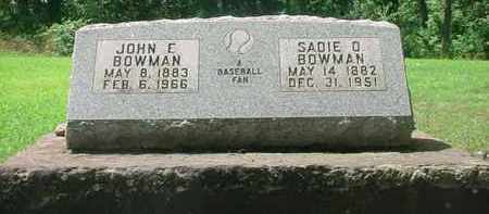 NEWHOUSE BOWMAN, SADIE O - Stark County, Ohio | SADIE O NEWHOUSE BOWMAN - Ohio Gravestone Photos
