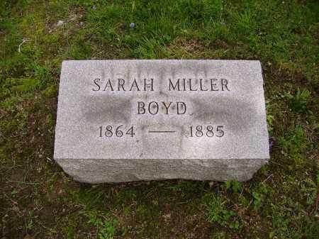 MILLER BOYD, SARAH - Stark County, Ohio | SARAH MILLER BOYD - Ohio Gravestone Photos