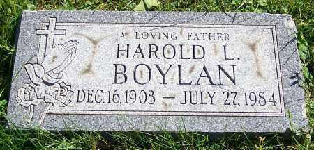 BOYLAN, HAROLD L. - Stark County, Ohio | HAROLD L. BOYLAN - Ohio Gravestone Photos