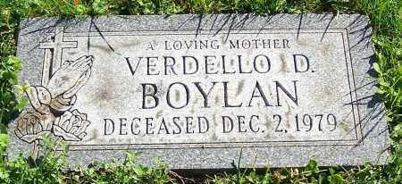 BOYLAN, VERDELLO D. - Stark County, Ohio | VERDELLO D. BOYLAN - Ohio Gravestone Photos