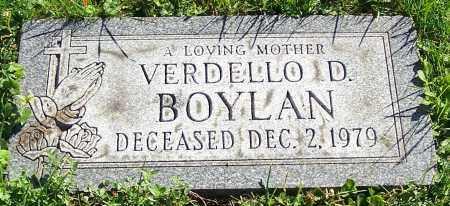BOYLAN, VERDELLO D. - Stark County, Ohio   VERDELLO D. BOYLAN - Ohio Gravestone Photos