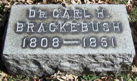 BRACKEBUSH, DR. CARL H. - Stark County, Ohio | DR. CARL H. BRACKEBUSH - Ohio Gravestone Photos