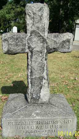 BRACKEBUSH, ELIZABETH HURFORD - Stark County, Ohio | ELIZABETH HURFORD BRACKEBUSH - Ohio Gravestone Photos