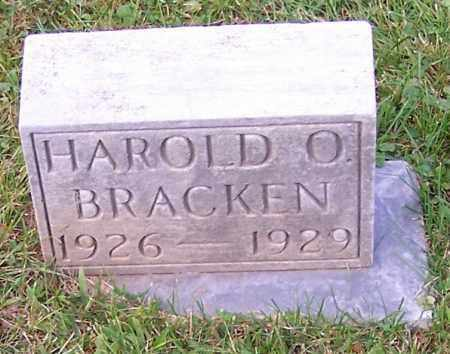 BRACKEN, HAROLD O. - Stark County, Ohio | HAROLD O. BRACKEN - Ohio Gravestone Photos