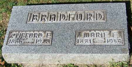 BRADFORD, CLIFORD E. - Stark County, Ohio | CLIFORD E. BRADFORD - Ohio Gravestone Photos