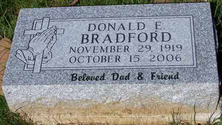 BRADFORD, DONALD E. - Stark County, Ohio | DONALD E. BRADFORD - Ohio Gravestone Photos