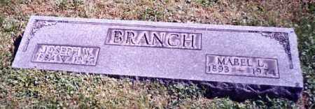 BRANCH, JOSEPH W. - Stark County, Ohio | JOSEPH W. BRANCH - Ohio Gravestone Photos