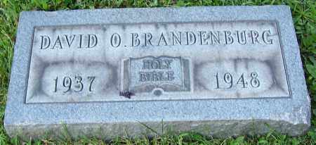 BRANDENBURG, DAVID O. - Stark County, Ohio | DAVID O. BRANDENBURG - Ohio Gravestone Photos