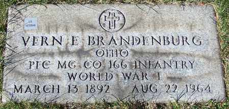 BRANDENBURG, VERN E. - Stark County, Ohio | VERN E. BRANDENBURG - Ohio Gravestone Photos