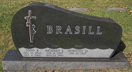 BRASILL, RICHARD E. - Stark County, Ohio | RICHARD E. BRASILL - Ohio Gravestone Photos