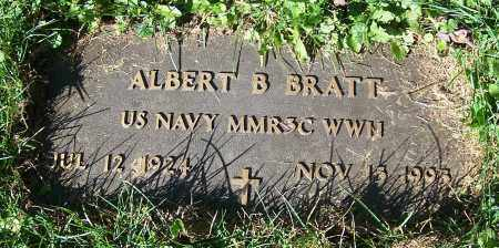 BRATT, ALBERT B. - Stark County, Ohio | ALBERT B. BRATT - Ohio Gravestone Photos