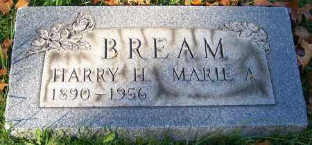 BREAM, HARRY H. - Stark County, Ohio | HARRY H. BREAM - Ohio Gravestone Photos