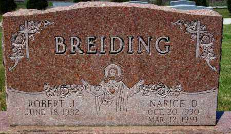 BREIDING, ROBERT J. - Stark County, Ohio | ROBERT J. BREIDING - Ohio Gravestone Photos