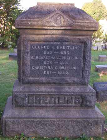 BREITLING, GEORGE S. - Stark County, Ohio | GEORGE S. BREITLING - Ohio Gravestone Photos