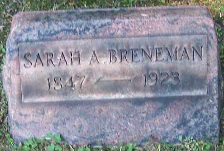 BRENEMAN, SARAH A. - Stark County, Ohio | SARAH A. BRENEMAN - Ohio Gravestone Photos