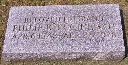 BRENNEMAN, PHILIP E. - Stark County, Ohio | PHILIP E. BRENNEMAN - Ohio Gravestone Photos
