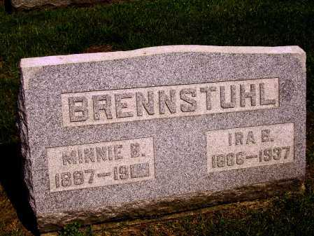 BRENNSTUHL, MINNIE B. - Stark County, Ohio | MINNIE B. BRENNSTUHL - Ohio Gravestone Photos