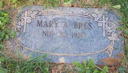 BRES, MARY A. - Stark County, Ohio | MARY A. BRES - Ohio Gravestone Photos