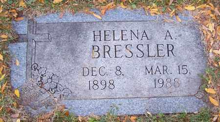 BRESSLER, HELENA A. - Stark County, Ohio | HELENA A. BRESSLER - Ohio Gravestone Photos