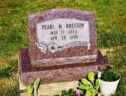 BRESSON, PEARL M. - Stark County, Ohio | PEARL M. BRESSON - Ohio Gravestone Photos