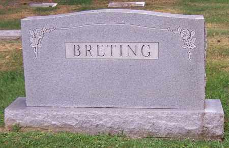 BRETING, FAMILY - Stark County, Ohio | FAMILY BRETING - Ohio Gravestone Photos