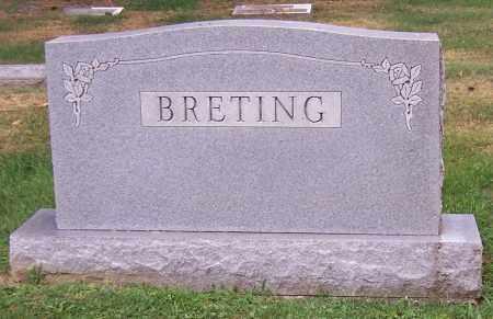 BRETING, FAMILY - Stark County, Ohio | FAMILY BRETING - Ohio Gravestone Photos