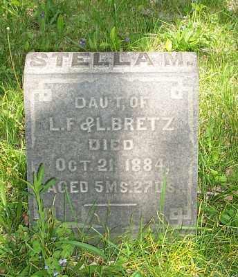 BRETZ, STELLA M. - Stark County, Ohio | STELLA M. BRETZ - Ohio Gravestone Photos