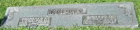 BREWER, NELLIE J. - Stark County, Ohio | NELLIE J. BREWER - Ohio Gravestone Photos