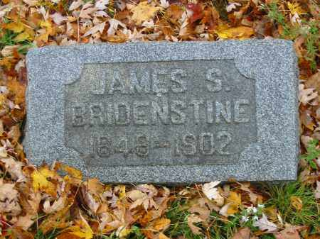 BRIDENSTINE, JAMES S - Stark County, Ohio | JAMES S BRIDENSTINE - Ohio Gravestone Photos
