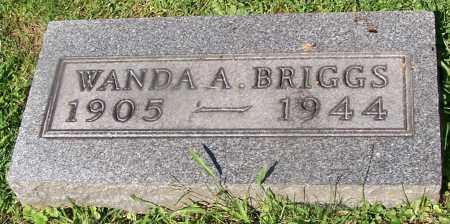 BRIGGS, WANDA A. - Stark County, Ohio | WANDA A. BRIGGS - Ohio Gravestone Photos