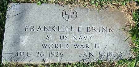 BRINK, FRANKLIN E. - Stark County, Ohio | FRANKLIN E. BRINK - Ohio Gravestone Photos