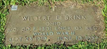 BRINK, WILBERT L. - Stark County, Ohio | WILBERT L. BRINK - Ohio Gravestone Photos