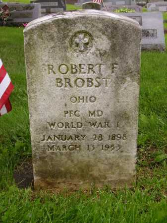 BROBST, ROBERT F. - Stark County, Ohio | ROBERT F. BROBST - Ohio Gravestone Photos