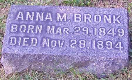 BRONK, ANNA M. - Stark County, Ohio | ANNA M. BRONK - Ohio Gravestone Photos