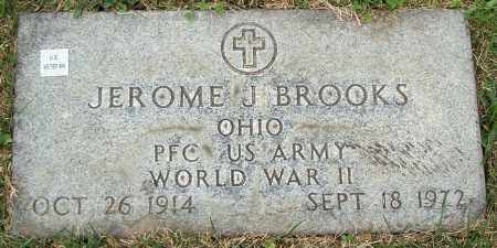 BROOKS, JEROME J. - Stark County, Ohio | JEROME J. BROOKS - Ohio Gravestone Photos