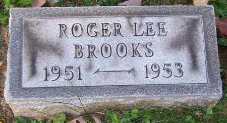 BROOKS, ROGER LEE - Stark County, Ohio | ROGER LEE BROOKS - Ohio Gravestone Photos