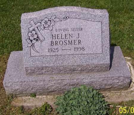 BROSMER, HELEN J. - Stark County, Ohio | HELEN J. BROSMER - Ohio Gravestone Photos