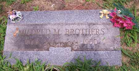 BROTHERS, MILDRED M. - Stark County, Ohio | MILDRED M. BROTHERS - Ohio Gravestone Photos