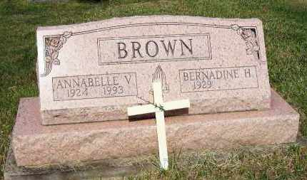 BROWN, BERNADINE H. - Stark County, Ohio | BERNADINE H. BROWN - Ohio Gravestone Photos