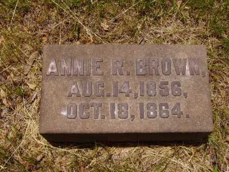 BROWN, ANNIE R. - Stark County, Ohio | ANNIE R. BROWN - Ohio Gravestone Photos
