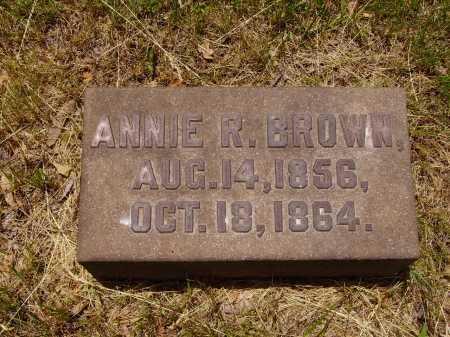 BROWN, ANNIE R. - Stark County, Ohio | ANNIE R. BROWN - Ohio Gravestone Photos