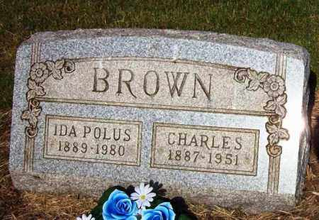 POLUS BROWN, IDA - Stark County, Ohio | IDA POLUS BROWN - Ohio Gravestone Photos
