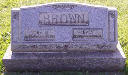 BROWN, CORA M. - Stark County, Ohio | CORA M. BROWN - Ohio Gravestone Photos