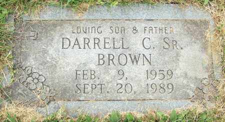 BROWN, DARRELL C. SR. - Stark County, Ohio | DARRELL C. SR. BROWN - Ohio Gravestone Photos