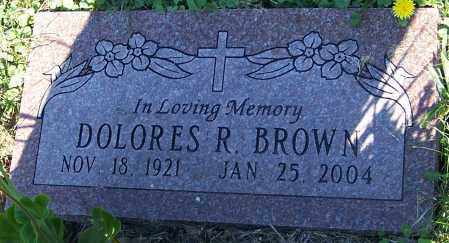 BROWN, DOLORES R. - Stark County, Ohio | DOLORES R. BROWN - Ohio Gravestone Photos