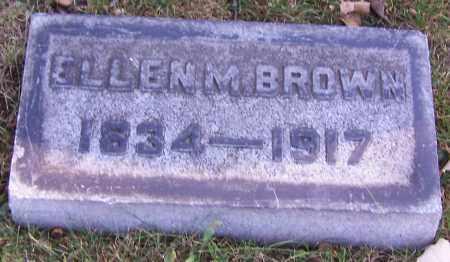 BROWN, ELLEN M. - Stark County, Ohio | ELLEN M. BROWN - Ohio Gravestone Photos