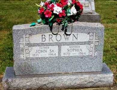 JACOBS BROWN, SOPHIA - Stark County, Ohio | SOPHIA JACOBS BROWN - Ohio Gravestone Photos