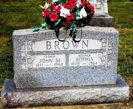 BROWN, SOPHIA - Stark County, Ohio | SOPHIA BROWN - Ohio Gravestone Photos